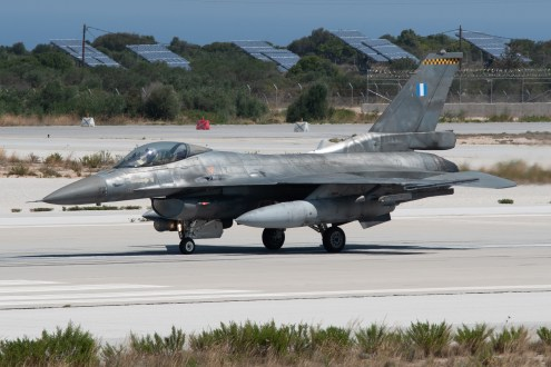 © Duncan Monk - HAF F-16C 518 - 115 Combat Wing – Hellenic Air Force – Cretes Ghost Vipers