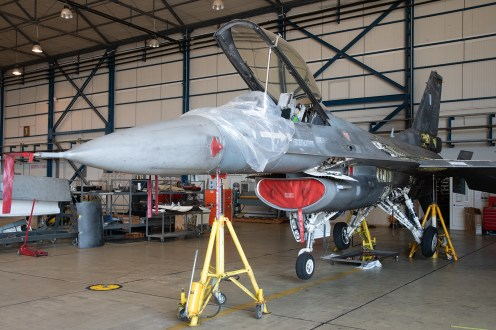 © Duncan Monk - HAF F-16C 519 Maintenance - 115 Combat Wing – Hellenic Air Force – Cretes Ghost Vipers