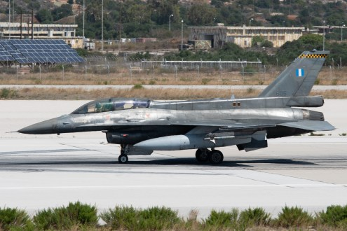 © Duncan Monk - HAF F-16D 605 - 115 Combat Wing – Hellenic Air Force – Cretes Ghost Vipers