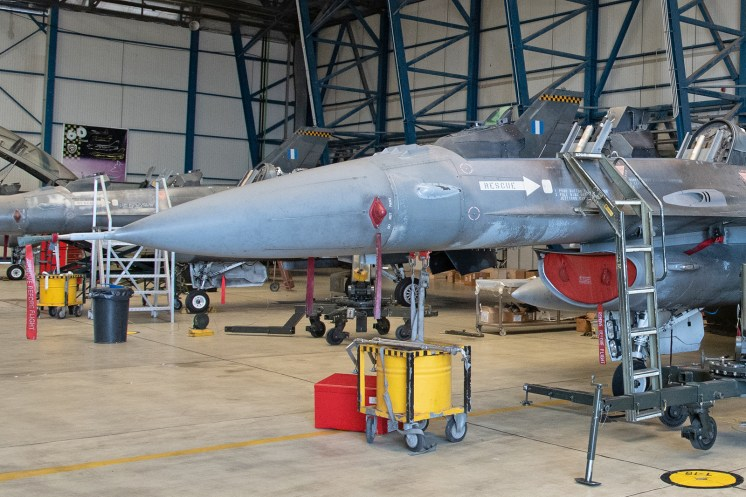 © Duncan Monk - HAF F-16D 608 Maintenance - 115 Combat Wing – Hellenic Air Force – Cretes Ghost Vipers