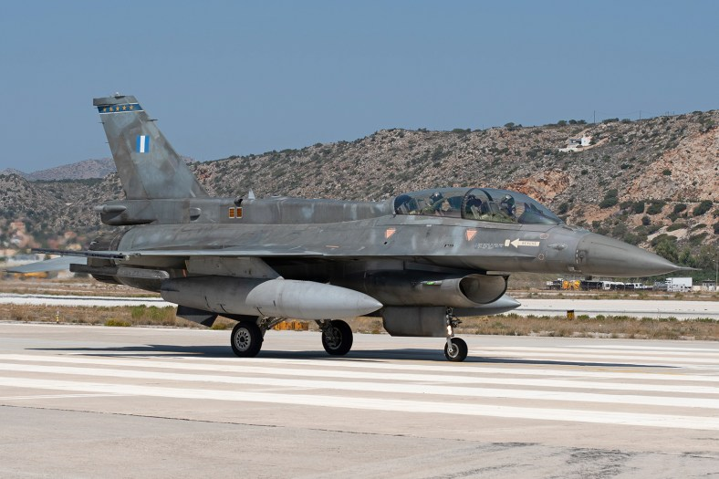 © Duncan Monk - HAF F-16D 613 - 115 Combat Wing – Hellenic Air Force – Cretes Ghost Vipers