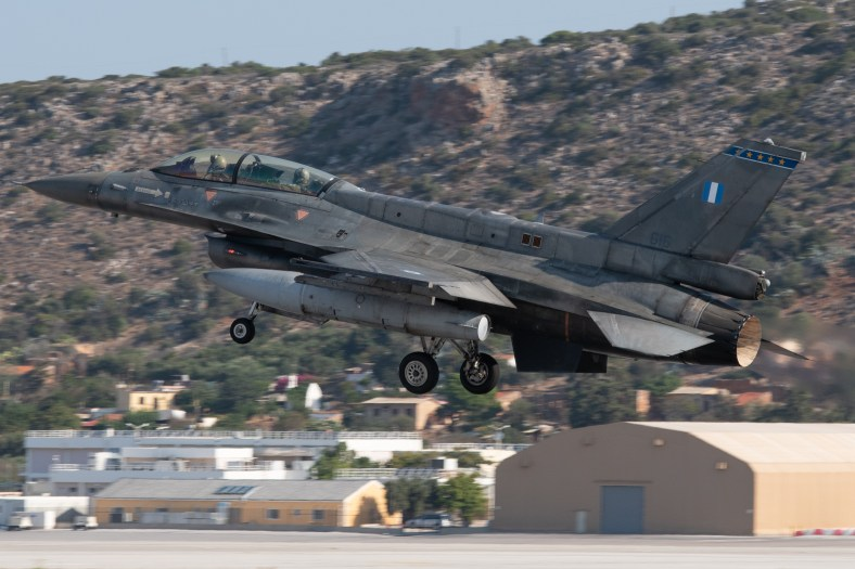 © Duncan Monk - HAF F-16D 616 - 115 Combat Wing – Hellenic Air Force – Cretes Ghost Vipers