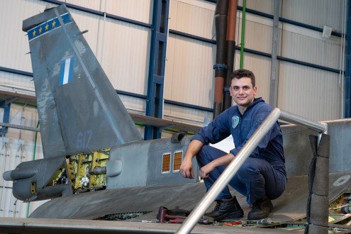© Duncan Monk - HAF F-16D 617 Maintenance - 115 Combat Wing – Hellenic Air Force – Cretes Ghost Vipers