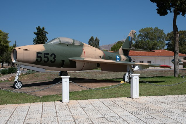 © Duncan Monk - HAF Thunderstreak F-84F 26554 - 115 Combat Wing – Hellenic Air Force – Cretes Ghost Vipers