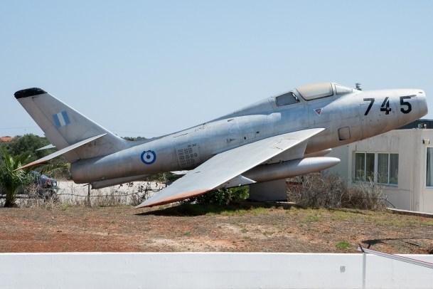 © Duncan Monk - HAF Thunderstreak F-84F 36745 - 115 Combat Wing – Hellenic Air Force – Cretes Ghost Vipers