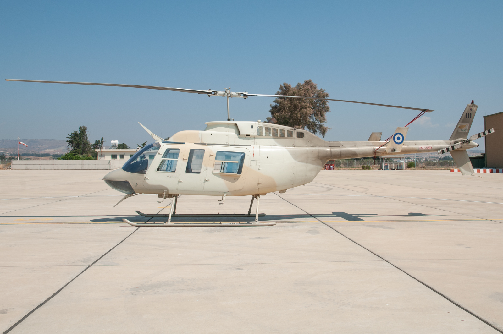 © Duncan Monk - Cypriot Air Command Bell 206L LongRanger 111