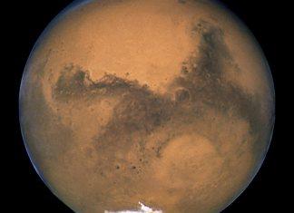 Mars Hubble Picture