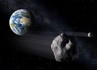 Asteroids Passing Earth Picture