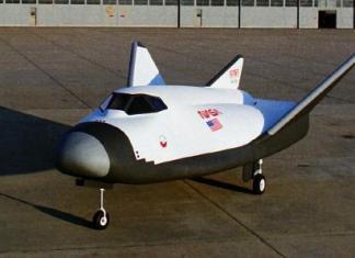 HL-20 lifting body spaceplane
