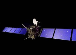 Rosetta Spacecraft Picture