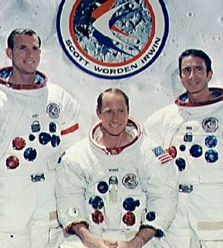 Apollo 15 Picture - Apollo 15 Crew