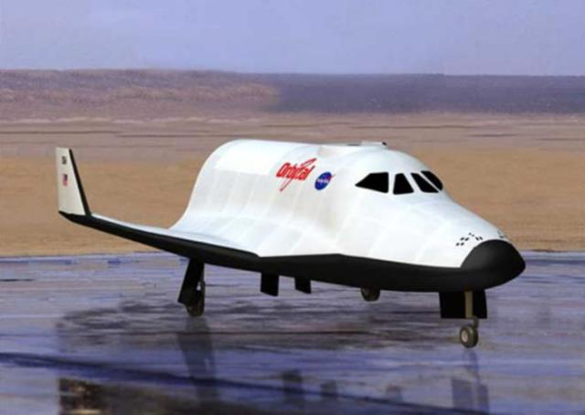 Orbital Sciences Mini-Shuttle Spaceplane Design (Circa 2010)