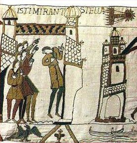 Bayeux Tapestry Halley's Comet Picture