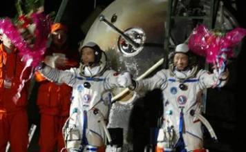Shenzhou 6 Crew: Fei Junlong and Nie Haisheng