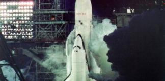 Buran Launch