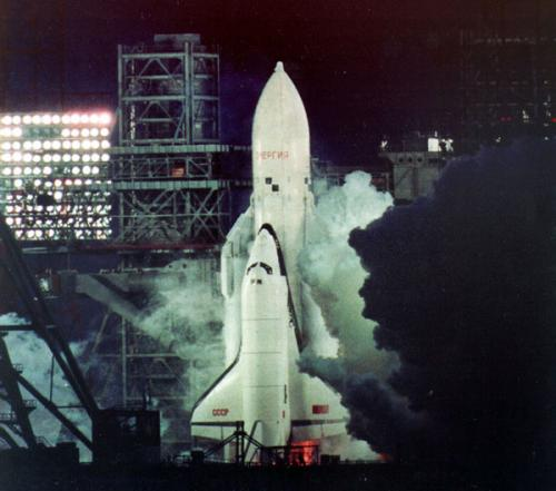 Buran Launch