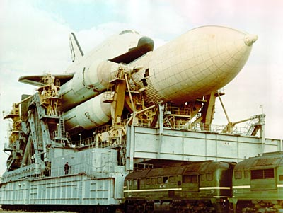 Buran Transporter with Energia Rocket