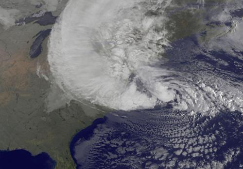 Hurricane Sandy Picture