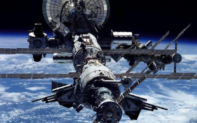Military International Space Station Picture