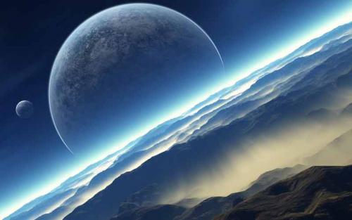 Alien Planet Moons