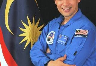 first Malaysian in space picture