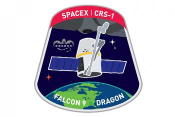SpaceX Dragon CRS-1 Mission Patch Picture