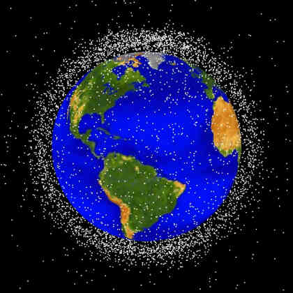 Space Debris Picture