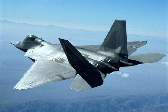 F-22 Raptor (http://www.aerospaceweb.org)