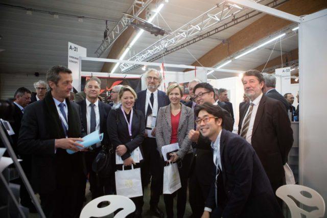 Le japonais TrueBizon découvrait le marché français à Bordeaux. Crédit : IO Studio Photographie.