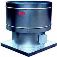 prv series powered roof ventilators