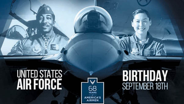 Happy 68th Birthday U S Air Force The Beacon March Arb