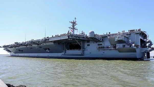 Navy photograph by PO3 Matt Herbst