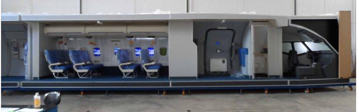 cabin training device 2