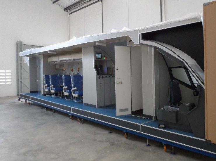 cabin training device 4