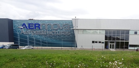 Fábrica de Aernnova, miembro de HEGAN, en Berantevilla (Vitoria) / Foto: Carmen Chaler