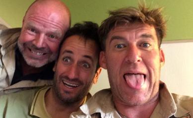 Los tres pilotos / Foto: Facebook