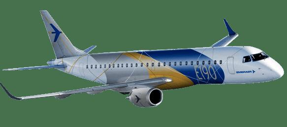 Resultado de imagen para Embraer 190 png