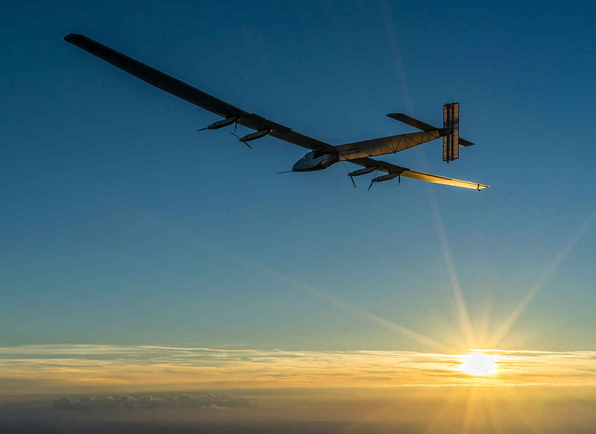 Solar Impulse 2 eighth flight