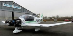 Premiers tours d'hélice pour le DR-400/915iS