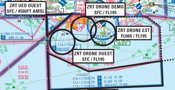 Drones et transit Sud