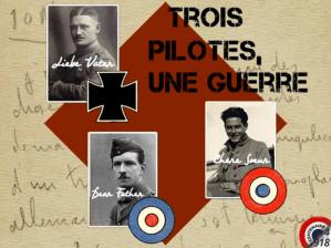 Trois pilotes, une guerre…