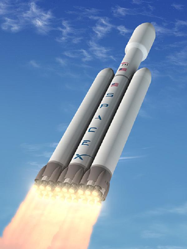 SpaceX lanceur lourd