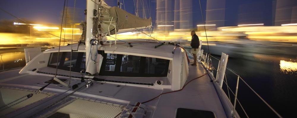 Outremer 51 catamaran deck