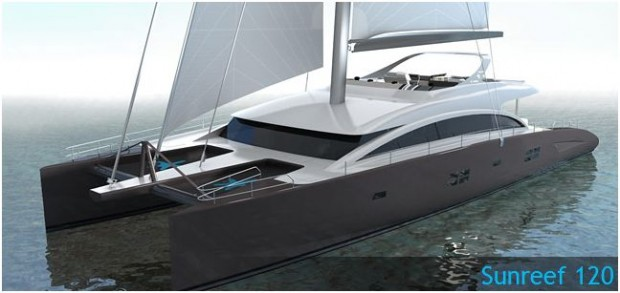 120' SUNREEF catamaran
