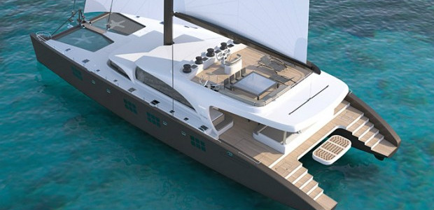 116' SUNREEF catamaran