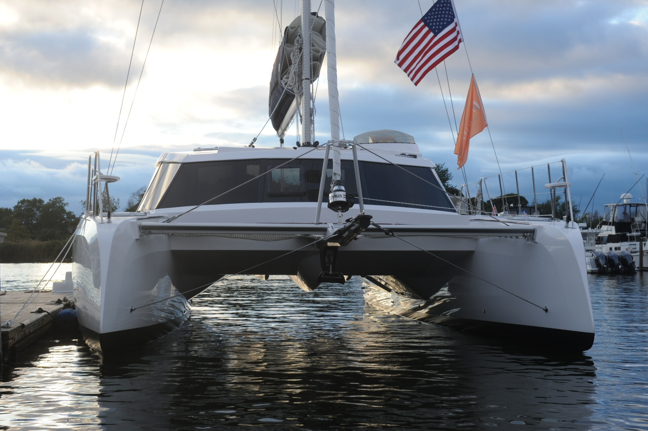 Alpha 42 Catamaran Photo Gallery Alpha Yachts Long Island