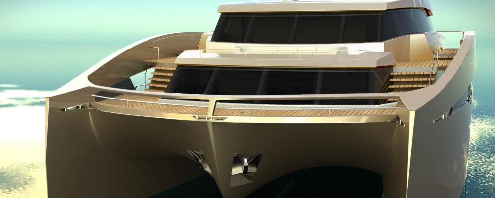 90 Sunreef Power catamaran