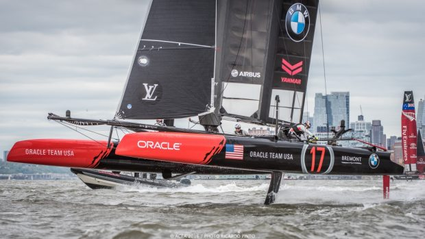 05/05/16 - New York (USA) - 35th America's Cup Bermuda 2017 - Louis Vuitton America's Cup World Series New York - Media Day -1