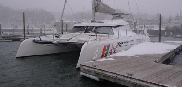 Alpha 42 catamaran