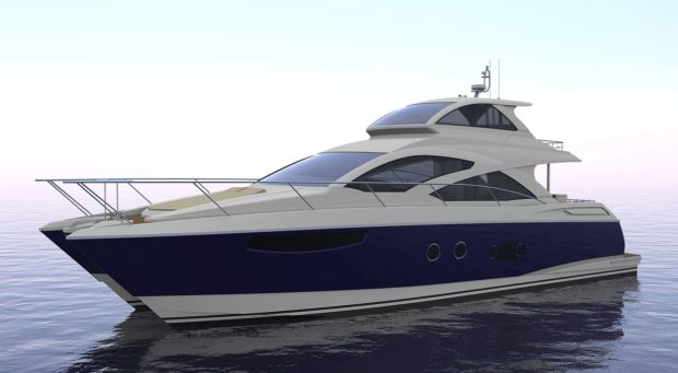 Mares 65 Sky Lounge power catamaran